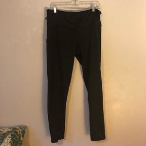 Black Active Leggings with Pockets